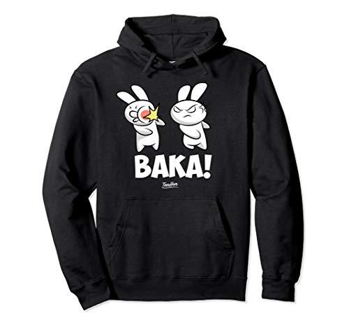 Funny Anime Baka Rabbit Baka Japanese Anime Lover Hoodie ()