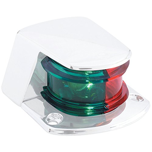 attwood 6375-205-1 Standard Sidelight Replacement Lens - Bi-Color ()