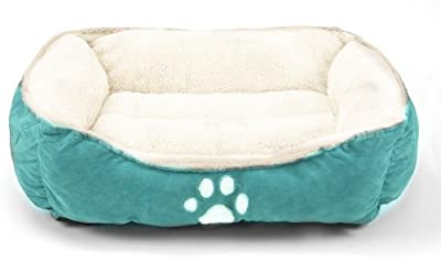 Sofantex Pet Line Medium Size Pet Beds Paw Print Blue