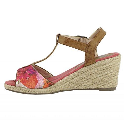 Zapatos negros de punta abierta formales Coolway para mujer LqCy9