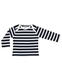 Organic Cotton Baby Clothes Long Sleeve T-Shirt GOTS Certified Various Colors