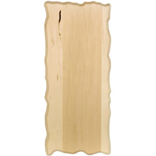 Rustic Wood Plaque (Walnut Hollow Basswood Small Rectangle Plaque, 6