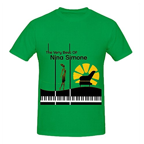 Nina Simone The Very Best Of Greatest Hits Mens Printed T - Fashion Miami Outlet
