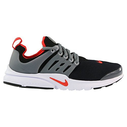 NIKE PRESTO (GS) boys running-shoes 833875-011_4Y - BLACK/MAX ORANGE-COOL GREY-WHITE (Awesome Shoes For Boys)