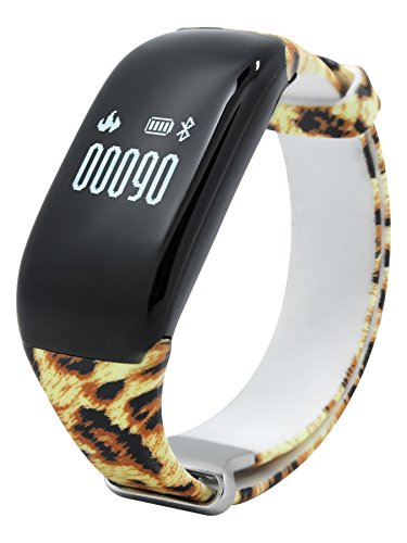 Scinex Flare Bluetooth Fitness Tracker Plus Hr. Monitor, Waterproof
