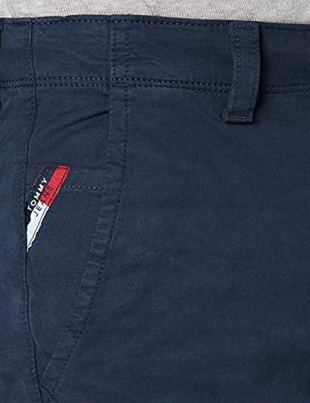 Tommy Jeans Męskie spodnie TJM Tapered Belted Pant: Odzież