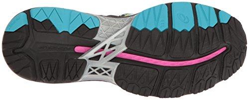 Kayano Shoe Running Gel Black Glow ASICS 23 Silver Women's Pink 1qC6w6