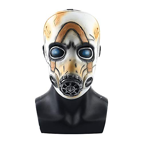 2019 New Game Borderlands 3 Psycho Mask Cosplay Psycho Latex Face Mask Halloween Cosplay Props White