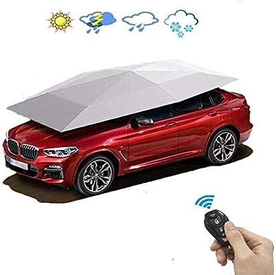 LFDHSF Cobertizo para estacionamiento de automóviles Control Remoto automático Plegable Telescópico Cochera móvil Cubierta para automóvil al Aire Libre Fácil de Usar: Amazon.es: Hogar