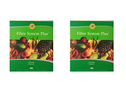4life Fibre System Plus with Digestive cleansing formula 30 packets each (pack of 2) For Sale