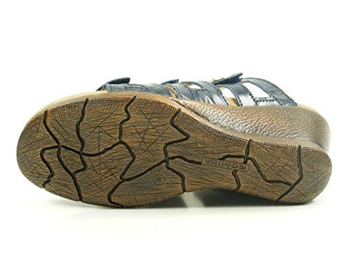 Romika Women's Nevis 04 Open Toe Sandals Blau JS8y4qaLyy