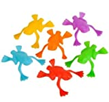 Neliblu Plastic Jumping Frogs - 144 Piece Pack Frog Jump Game - Frog Jumping Toy - Makes Great Carnival Prizes, Party Favors, Easter Egg Fillers, Goody Loot Bag, Toy Pinata Filler - Leaping Frogs