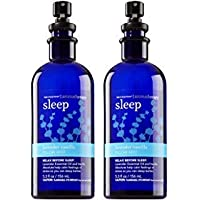 Set of 2 Bath and Body Works Aromatherapy Pillow Mist Lavender Vanilla Sleep 5.3 Ounce Each Retired Fragrance