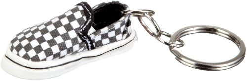 Vans Slip-On Keychain - Black/White