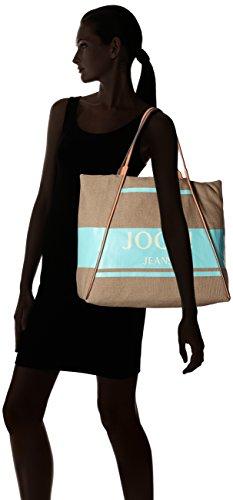 Joop! Canvas Lara Shopper Xlho, Borse a secchiello Donna Blu (Light Blue)