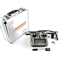 FrSky Taranis X9D Plus Transmitter and X8R Receiver with Mode2 & Aluminum Case for FPV Quadcopters