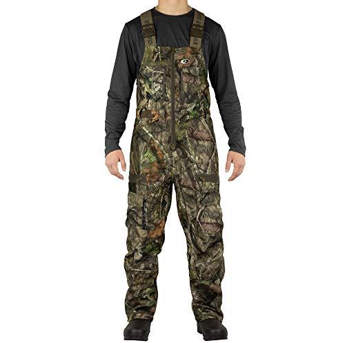 - MOSSY OAK Men's Camo Sherpa 2.0 Fleece Lined Hunting Bib Overalls in Multiple Patterns