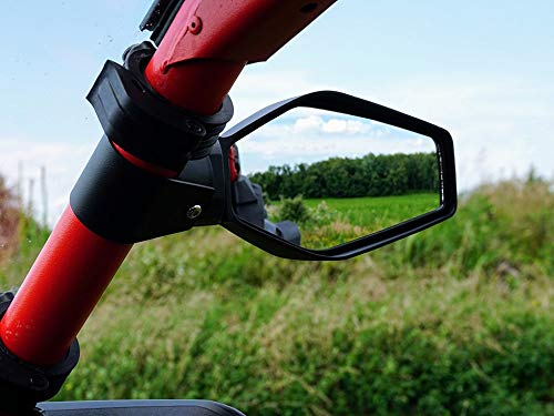 Dragonfire Racing Slayer Side View Mirrors For 2019 Honda Talon 1000r and 1000x