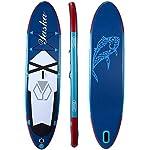 DIMPLEYA-Paddle-Board-Gonfiabile-SUP-Up-Paddle-SUP-Boards-330x76x15cm-per-Tutti-I-Colore-Blu-Dimensione-330x76x15cmBlu330x76x15cm