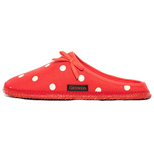 Donna Giesswein Rosso rot Plein Pantofole Hwq0wSEO