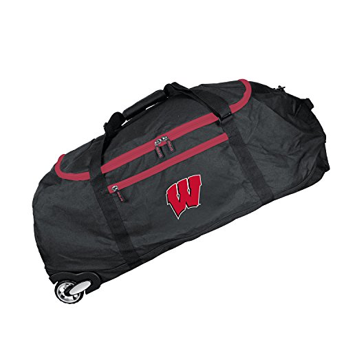 NCAA Wisconsin Badgers Crusader Collapsible Duffel, ()
