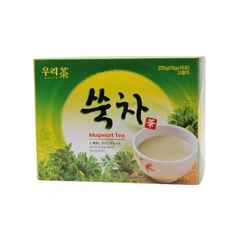 Korean Traditional Mugwort Tea, 15 Sticks (10 Pack) by Songwon