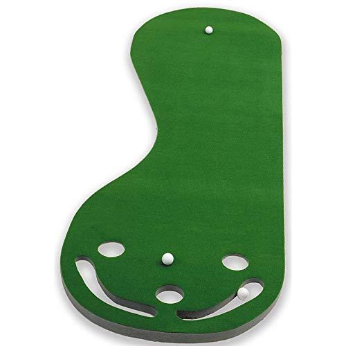 ゴルフパッティンググリーン Par 3 ゴルフマット 練習用表面パッター クラブ スポーツ ボール アクティビティ ストローク 実物そっくり 丈夫な装備 プラスチック   B07NCBT9XB