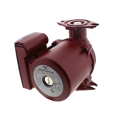 Grundfos 98961763 Ups26-99bfc 3-speed Stainless Steel Circulator Pump, 1/6 Hp, 115 Volt