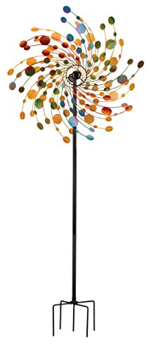 Regal Art & Gift Rotating Confetti Kinetic Stake, 32