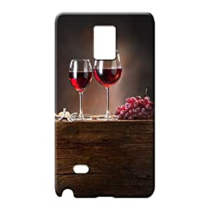 samsung note 4 Slim High Grade Forever Collectibles mobile phone cases red wine grapes