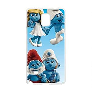 Charming The Smurfs Cell Phone Case for Samsung Galaxy Note4 WANGJING JINDA