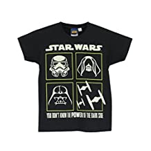 Star Wars Boys' Star Wars T-Shirt Glow in the Dark