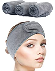 SINLAND Microfiber Headband Women Hair Band Fashion Soft Grey 3pcs