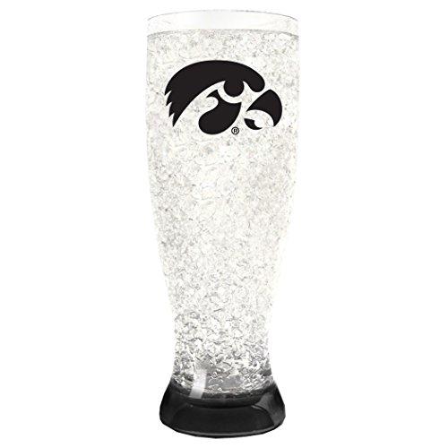 NCAA Iowa Hawkeyes 16oz Crystal Freezer Pilsner ()