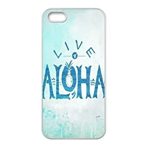 Custom Colorful Case for Iphone 5,5S, ALOHA Cover Case - HL-531397