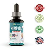 #7: Hemp Oil Extract - 500 mg - Helps to Reduce Stress and Anxiety - Sleep, Mood and Pain Relief Supplement - 100% Organic Pure Herbal Drops - Rich in MCT Fatty Acids - Made in USA