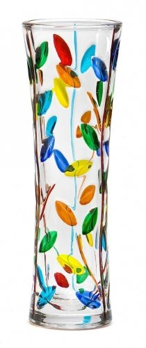 Murano Glass New Imported Vase, Flowervine Small