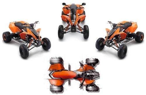 Buy ktm quad xc 525
