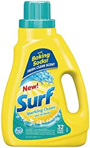 Amazon.com: Surf Liquid Laundry Detergent, Sparkling Ocean