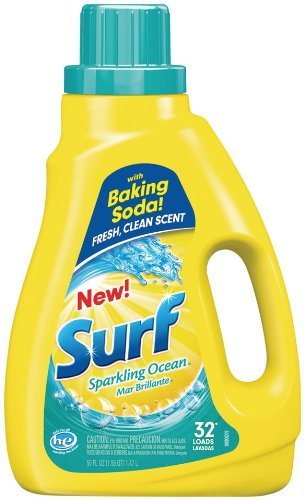 Surf Laundry Detergent - Surf Liquid Laundry Detergent, Sparkling Ocean, 50 Ounce by Surf