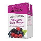Monin Blender Ready Wildberry Fruit Smoothie Mix, 46 Ounce -- 6...