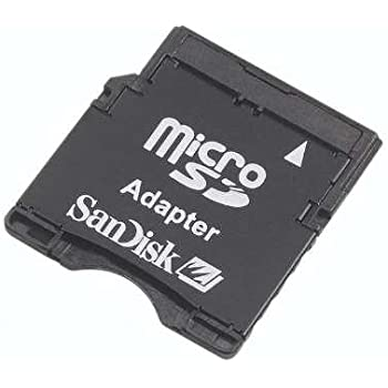 Amazon.com: SanDisk microSD to SD Memory Card Adapter (MICROSD-ADAPTER): Computers & Accessories