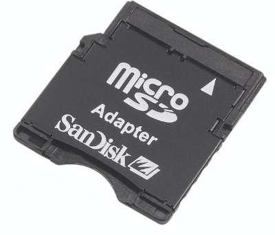 Sandisk MicroSD MiniSD Adapter Package