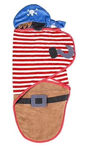 Pirate Boutique - b.Boutique Pirate Baby Swaddle Towel