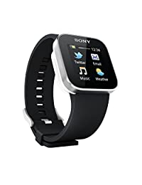Sony SmartWatch - Carrier Packaging - Black (Discontinued by Manufacturer)