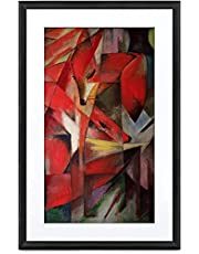 MEURAL Canvas Smart Art Digitale HD-canvas 41 x 61 cm (zwart frame, 21,5 inch, schilderijen en foto's worden in levensechte details weergegeven, WLAN met app, van Netgear) 21,5 inch zwart