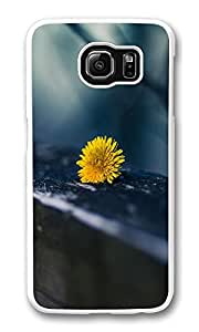 VUTTOO Rugged Samsung Galaxy S6 Edge Case, Dandelion Flower Macro Close-up Hardshell Case for Samsung Galaxy S6 Edge PC Transparent