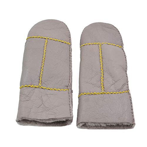 Yosang Women's Handemade Winter Warm Shearling Sheepskin Leather ()