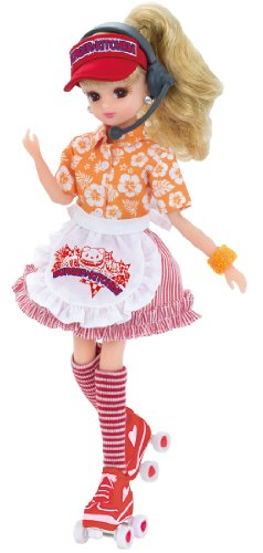 Hamburger Kitchen Dress Set Rika-chan by TOMY