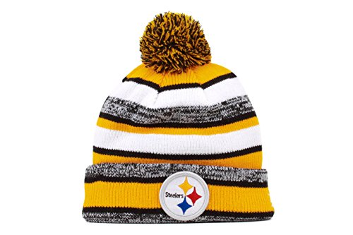 f699a847 New Era NFL 2014 On Field Knit Pittsburgh Steelers Beanies, OS